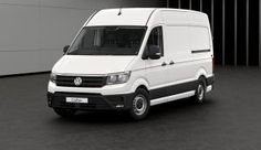 The New Volkswagen Crafter LWB Commercial Lease