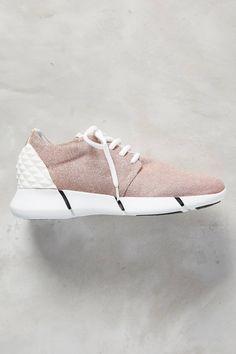 Calu Glittered Sneakers by Elena Iachi #anthrofave #anthropologie