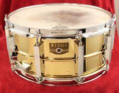 Tama Brass 6x14 Snare Drum 10 Lug
