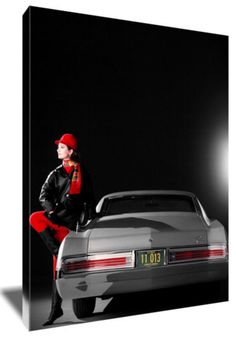 "1966 Buick Riviera 24 x 16"" Canvas"