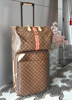 Travel Louis Vuitton Pegase Business 55 mon monogrammed keepall 55. aka perfection #bags #fashion