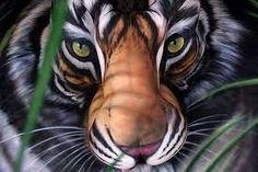 """Résultat de recherche d'images pour """"animal body paint"""" #BodyArtIllusions"""