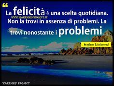 www.warriorsproject.it #Buongiorno #citazioni #aforisma #frasi #coaching #parole #frasi #aforismi #citazioni #famose #belle #massime #pensieri #tempo #filosofia #pensiero #positivo #cambiamento #guerriero #vincere #vittoria #successo