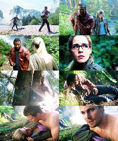 Arrow - Felicity, Oliver & Diggle #Season2