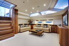 boat interiors on pinterest boat interior luxury yacht interior and