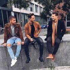 ☃Atualizando seu look de inverno: Tons terrosos ● #GBinspira #Fashion #ModaMasculina #StreetStyle #GBstyle #HomemdeEstilo…