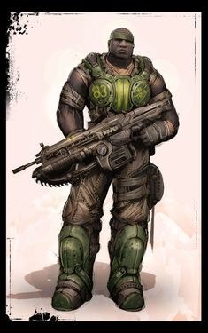 Image for Gears of War 3 (Xbox - Character Concept Art << ooh! This is the Cole Train! Game Character, Character Concept, Concept Art, Character Design, Xbox 360, Video Game Art, Video Games, Gears Of War 3, Comic Face