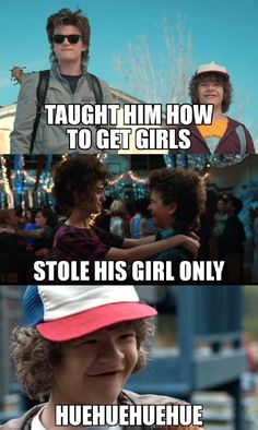 Badass Dustin - - More memes, funny videos and pics on Stranger Things Fotos, Watch Stranger Things, Stranger Things Have Happened, Stranger Things Aesthetic, Stranger Things Season 3, Stranger Things Netflix, Stranger Things Steve, Saints Memes, Stranger Danger