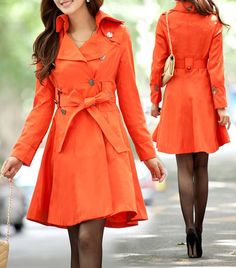 I would wear this all spring long! Would be a little better if it was also a raincoat though.