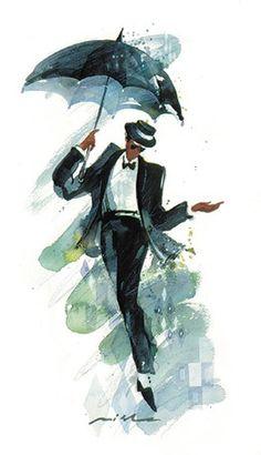 Misha Lenn — great watercolor artist, jazz pianist, and friend of mine.