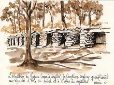 Apier à Cornillon Confoux - Bouches du Rhône