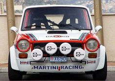 Autobianchi A112 Abarth, rally version