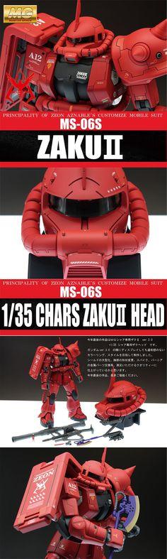 [해외] MG 자쿠2 MS-06S :: Memories