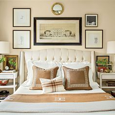 The Master Bedroom - The Editor's Editor: Lindsay Bierman's Birmingham Home - Southern Living
