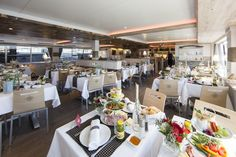 Design MS Dürnstein ••• Danube ship Ms, Table Settings, Ship, Table Decorations, Furniture, Design, Home Decor, Table Top Decorations, Interior Design