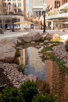 Beautiful high end shopping center in Salt Lake City