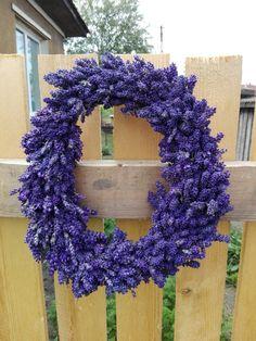 Casuta cu lavanda Oval lavender wreath