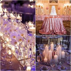 These beautifully alluring wedding ideas today are going to brighten your day in every way! This heavenly inspiration today includes twinkling lights, amazing floral designs, dazzling reception decor and the most glamorous candles you've ever seen. We can't help but be captivated by these eye-gazing details filled with glam and romance. See these pretty wedding […]