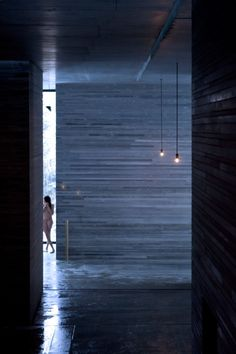 Peter Zumthor's Therme Vals spa photographed by Fernando Guerra Ancient Greek Architecture, Chinese Architecture, Gothic Architecture, Classical Architecture, Architecture Plan, Interior Architecture, Sustainable Architecture, Landscape Architecture, Therme Vals