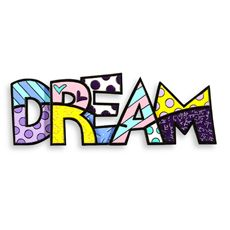 Britto™ by Giftcraft Ceramic Dream Wall/Table Sign  Many motivations available