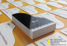 tarjetas de presentacion creativas para pianistas