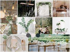 Green & Grey wedding insperation