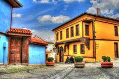 Odunpazarı evleri.. Eskişehir.