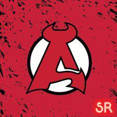 The Internet's Largest Curated Sports Logo Mood Board - Spor Repor Hockey Logos, Sports Logos, American Hockey League, Edit Logo, Lululemon Logo, Art Work, Gaming, Letters, Artwork