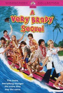 """A Very Brady Sequel"" A 1996 comedy film set in Hawaii and sequel to 1995's ""The Brady Bunch Movie"""