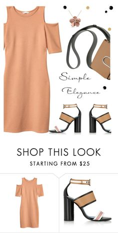 """Simplicity on a Fast Paced Day"" by juliehooper ❤ liked on Polyvore featuring H&M, Lanvin and Allurez"