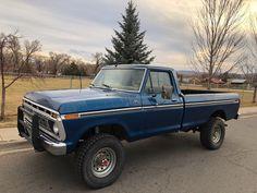 Old Ford Trucks, Old Pickup Trucks, 4x4 Trucks, Cool Trucks, Ford Obs, Old Fords, Transfer Case, Monster Trucks, Engineering