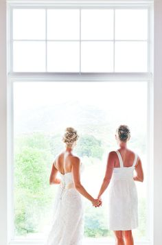 Same sex wedding dresses ... Wedding ideas for brides & bridesmaids, grooms & groomsmen, parents & planners ... https://itunes.apple.com/us/app/the-gold-wedding-planner/id498112599?ls=1=8 … plus how to organise an entire wedding, without overspending ♥ The Gold Wedding Planner iPhone App ♥