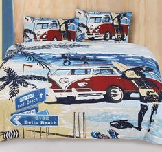 Summer Quilt Cover Set by Retro Home