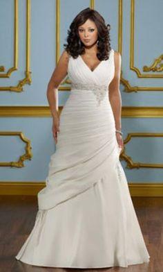 """""""plus size wedding dress"""""""