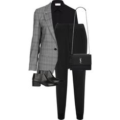 Untitled #13068 by alexsrogers on Polyvore featuring moda, Yves Saint Laurent, Topshop, Splendid and Givenchy