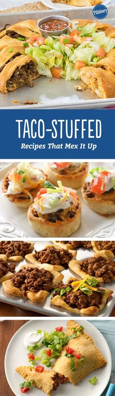 Taco-Stuffed Recipes That Mex It Up - These tasty twists on Mexican food will make taco night more fun.