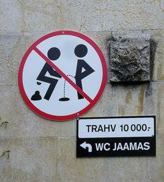 Tallinn, #Estonia #sign