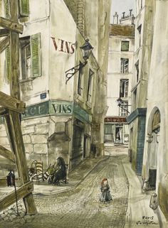foujita tsuguharu rue de paris | cityscape | sotheby's Tsuguharu Foujita 1886-1968 RUE DE PARIS signed Foujita and inscribed Paris  (lower right) oil on canvas 33 by 24cm., 13 by 9 1/2 in. Painted circa  1955l14004lot78zk2es