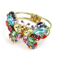 Butterfly Clamper Bracelet. Multicolor wonderful clamper bracelet. $24.90