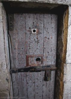 Kilmainham Gaol, Dublin, Ireland |   Eerie and physically bone chillingly cold when we went. Youngest prisoner was only five years old.
