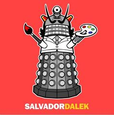 Salvador Dalek!
