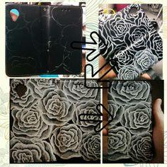 Acryllic phone decor