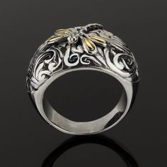 Dragonfly Ring - Cross Jewelers