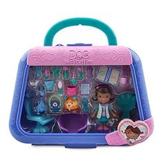 Doc Mcstuffins Mini Figurine Vet Set Playset by Disney * Find out more about the great product at the image link. Toddler Girl Gifts, Baby Girl Toys, Toys For Girls, Baby Dolls, Toy Story Party, Toy Story Birthday, 2nd Birthday, 4 H, Mc Toys