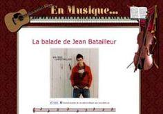 La balade de Jean Batailleur Jeans, Broadway Shows, Cards, Ride Or Die, Music, Map, Jeans Pants, Blue Jeans, Denim Jeans