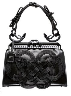 131673137373 Dior Samourai 1947 Knot Frame Bag Vintage Handbags