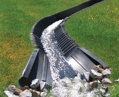 SmartDitch is a maintenance free and ideal solution for slope stabilization, drainage, and erosion / sediment control.