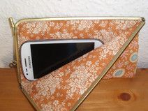 Joisys® Bügeltasche Smartphone Soft Case *Orange