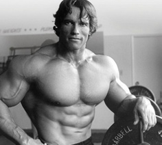Arnold started weight lifting at the age of 14 but when he wanted to become a professional bodybuilding he was 15. He started power lifts and heavy lifting at the age of 15. He  was on soccer and left the team for weight lifting.
