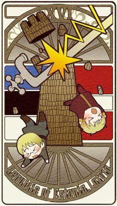 Hetalia Tarot Card